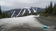 Archiv Foto Webcam Sun Peaks: Sundance Sesselbahn Bergstation 09:00