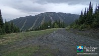 Archiv Foto Webcam Sun Peaks: Sundance Sesselbahn Bergstation 23:00