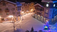 Archiv Foto Webcam Village Sun Peaks 19:00