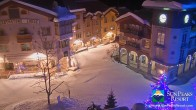 Archiv Foto Webcam Village Sun Peaks 21:00