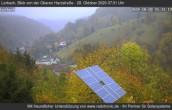 Archiv Foto Webcam Blick von der oberen Harzstraße in Lerbach 03:00