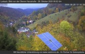 Archiv Foto Webcam Blick von der oberen Harzstraße in Lerbach 05:00