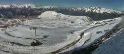 Archiv Foto Webcam La Folie Douce - Marmottes 2300m 04:00