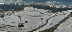 Archiv Foto Webcam La Folie Douce - Marmottes 2300m 08:00