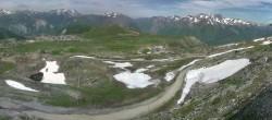 Archived image Webcam La Folie Douce - Marmottes 2300m 04:00