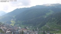 Archiv Foto Webcam Blick auf die Saslong Weltcup-Abfahrt 02:00