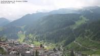 Archiv Foto Webcam Blick auf die Saslong Weltcup-Abfahrt 04:00