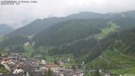 Archiv Foto Webcam Blick auf die Saslong Weltcup-Abfahrt 08:00