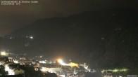 Archiv Foto Webcam Blick auf die Saslong Weltcup-Abfahrt 22:00