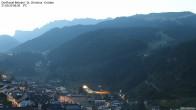 Archiv Foto Webcam Blick auf die Saslong Weltcup-Abfahrt 00:00