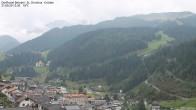 Archiv Foto Webcam Blick auf die Saslong Weltcup-Abfahrt 06:00