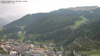 Archiv Foto Webcam Blick auf die Saslong Weltcup-Abfahrt 10:00