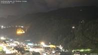 Archiv Foto Webcam Blick auf die Saslong Weltcup-Abfahrt 14:00