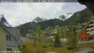 Archiv Foto Webcam Gargellen- Blick Schafberg 04:00