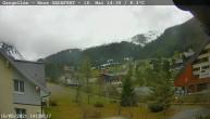 Archiv Foto Webcam Gargellen- Blick Schafberg 08:00
