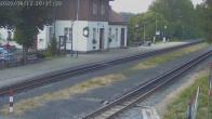 Archiv Foto Webcam Bahnhof Jonsdorf 19:00