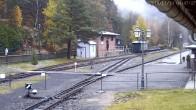 Archived image Webcam Railway Station Oybin 02:00