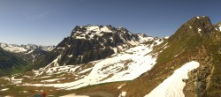 Archiv Foto Webcam Gargellen Panorama - Montafon 02:00