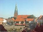 Archiv Foto Webcam Marktplatz Eutin 04:00