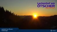 Archiv Foto Webcam Blick vom Hüttenkogel in Lackenhof Ötscher, Niederösterreich 01:00