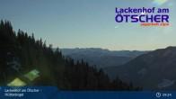 Archiv Foto Webcam Blick vom Hüttenkogel in Lackenhof Ötscher, Niederösterreich 03:00