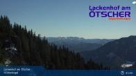 Archiv Foto Webcam Blick vom Hüttenkogel in Lackenhof Ötscher, Niederösterreich 05:00