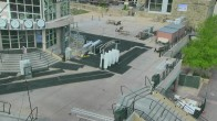 Archived image Webcam Aspen Mountain: Silver Queen Gondola Base Station 04:00
