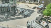 Archived image Webcam Aspen Mountain: Silver Queen Gondola Base Station 08:00