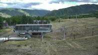 Archiv Foto Webcam Aspen Buttermilk, Talstation des Summit Express 10:00
