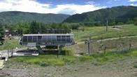 Archived image Webcam Aspen Buttermilk: Summit Express Base Station 08:00