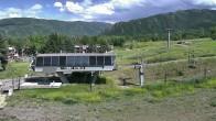 Archived image Webcam Aspen Buttermilk: Summit Express Base Station 10:00