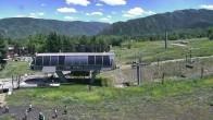 Archiv Foto Webcam Aspen Buttermilk, Talstation des Summit Express 08:00
