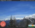 Archiv Foto Webcam Chiesa in Valmalenco: Rifugio Zoia 04:00