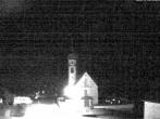 Archiv Foto Webcam Vent - Blick zur Kirche und den Stubaier Alpen 22:00