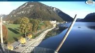 Archiv Foto Webcam Achensee - Pertisau Hochsteg 07:00