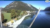 Archiv Foto Webcam Achensee - Pertisau Hochsteg 09:00