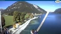 Archiv Foto Webcam Achensee - Pertisau Hochsteg 11:00