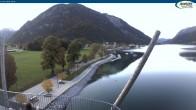 Archiv Foto Webcam Achensee - Pertisau Hochsteg 17:00