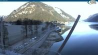 Archiv Foto Webcam Achensee - Pertisau Hochsteg 04:00