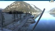 Archiv Foto Webcam Achensee - Pertisau Hochsteg 06:00