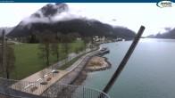 Archiv Foto Webcam Achensee - Pertisau Hochsteg 02:00