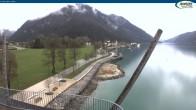 Archiv Foto Webcam Achensee - Pertisau Hochsteg 08:00