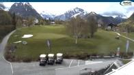 Archiv Foto Webcam Pertisau - Golfclub 11:00