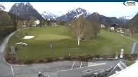 Archiv Foto Webcam Pertisau - Golfclub 13:00