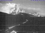 Archiv Foto Webcam Saslong Abfahrt vom Alpenhotel Plaza 22:00