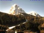 Archiv Foto Webcam Saslong Abfahrt vom Alpenhotel Plaza 02:00