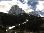 Archiv Foto Webcam Saslong Abfahrt vom Alpenhotel Plaza 04:00