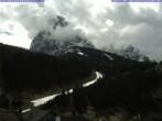 Archiv Foto Webcam Saslong Abfahrt vom Alpenhotel Plaza 06:00