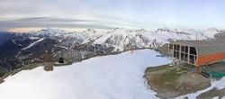 Archived image Webcam Auron - Berchia Top Station 00:00