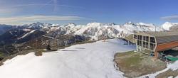 Archived image Webcam Auron - Berchia Top Station 02:00